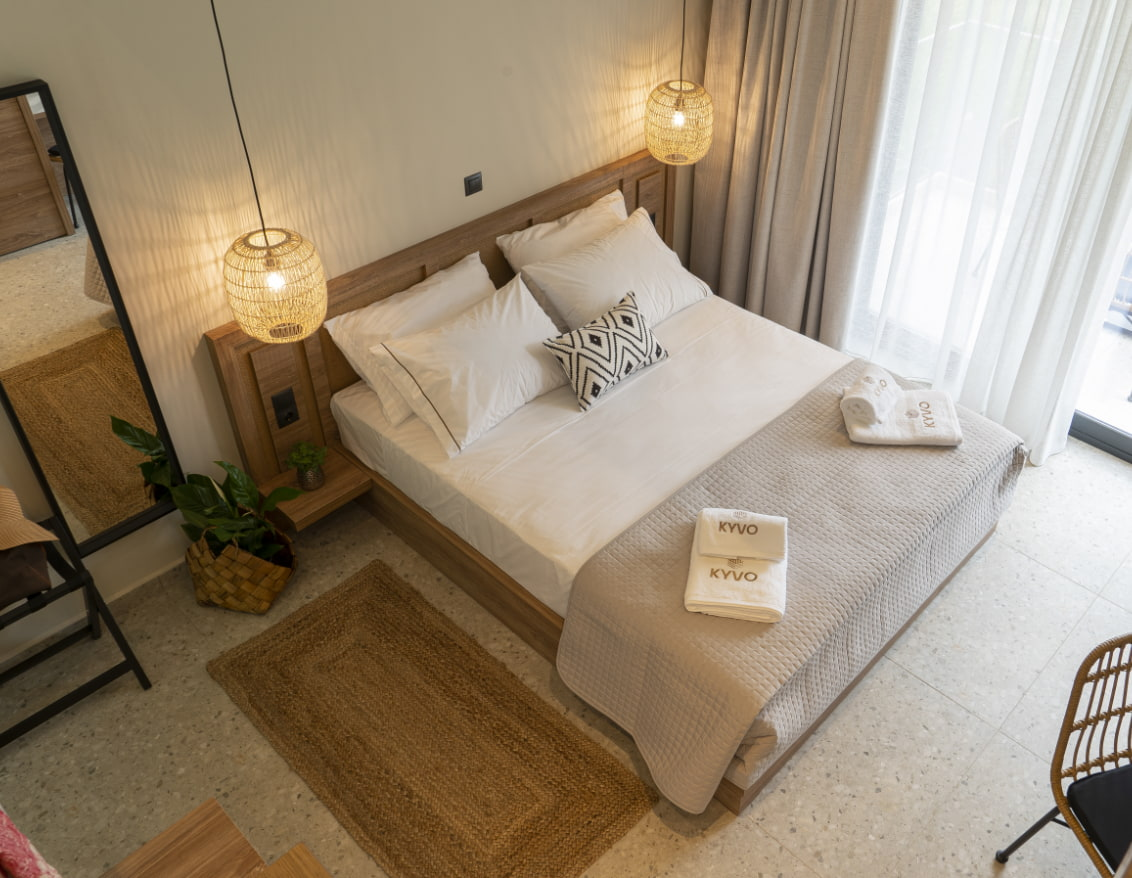 Kyvo Experience - A unique accommodation in Chrysi Akti Thassos